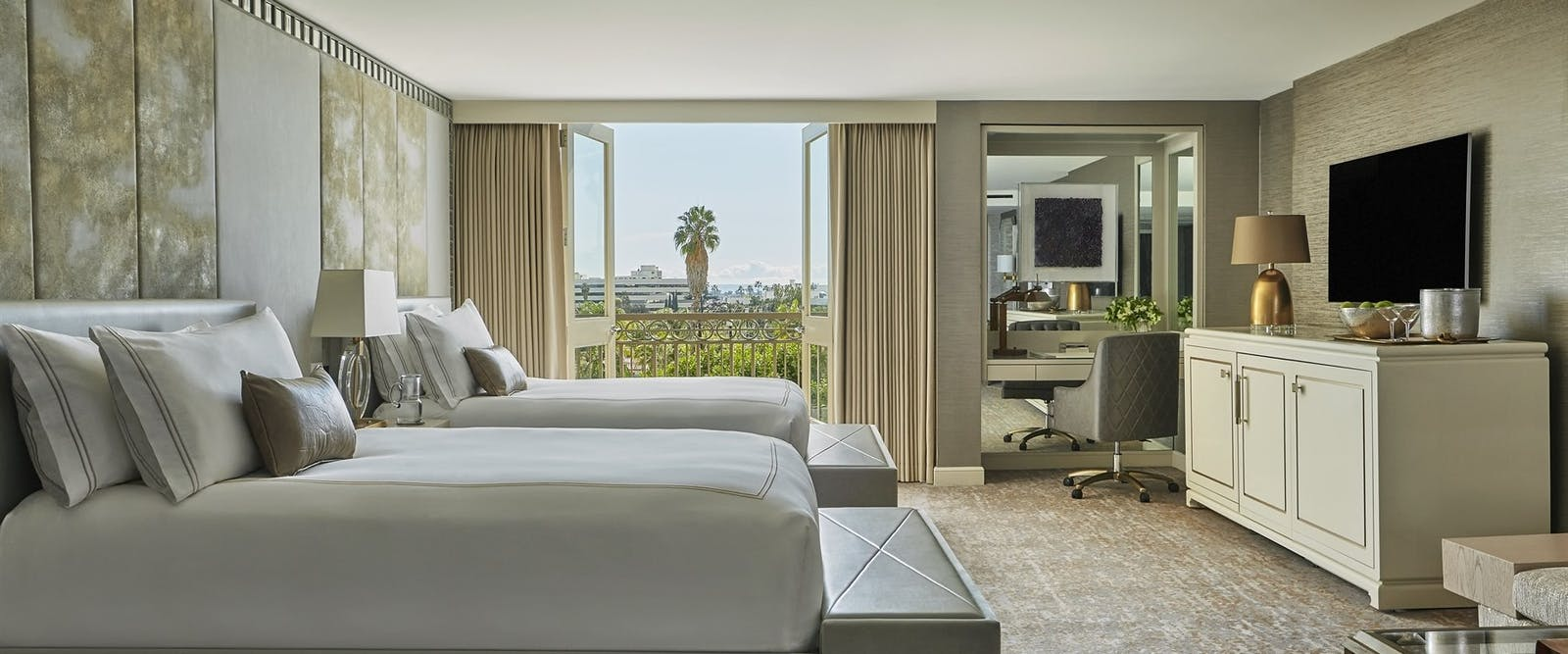 Studio Double Suite at Viceroy L'Ermitage Beverly Hills