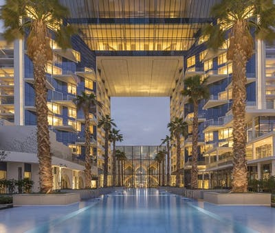 exterior at five palm jumeirah dubai