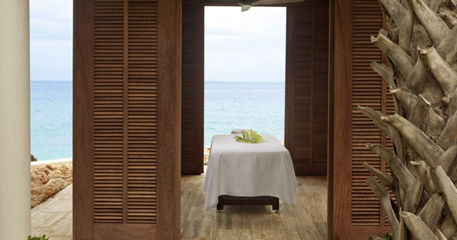 Relax in the spa at Four Seasons Anguilla Resort