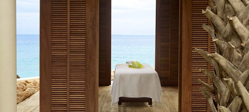 Relax in the spa at Viceroy, Anguilla