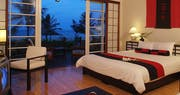 Deluxe beachfront Japanese style bedroom  at Victoria Hoi An Beach Resort & Spa