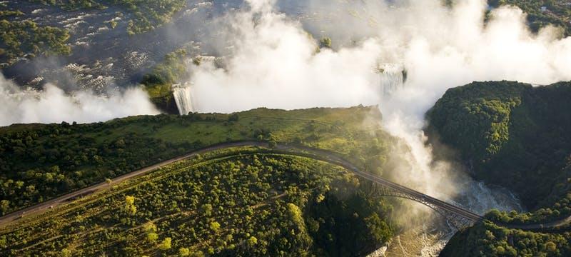 Victoria falls at The Royal Livingstone by Anantara