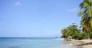 Stunning coastline at Little Good Harbour, Barbados