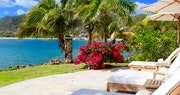 View from the luxurious spa at Curtain Bluff, Antigua