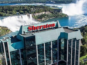 Exterior of Sheraton on The Falls, Ontario