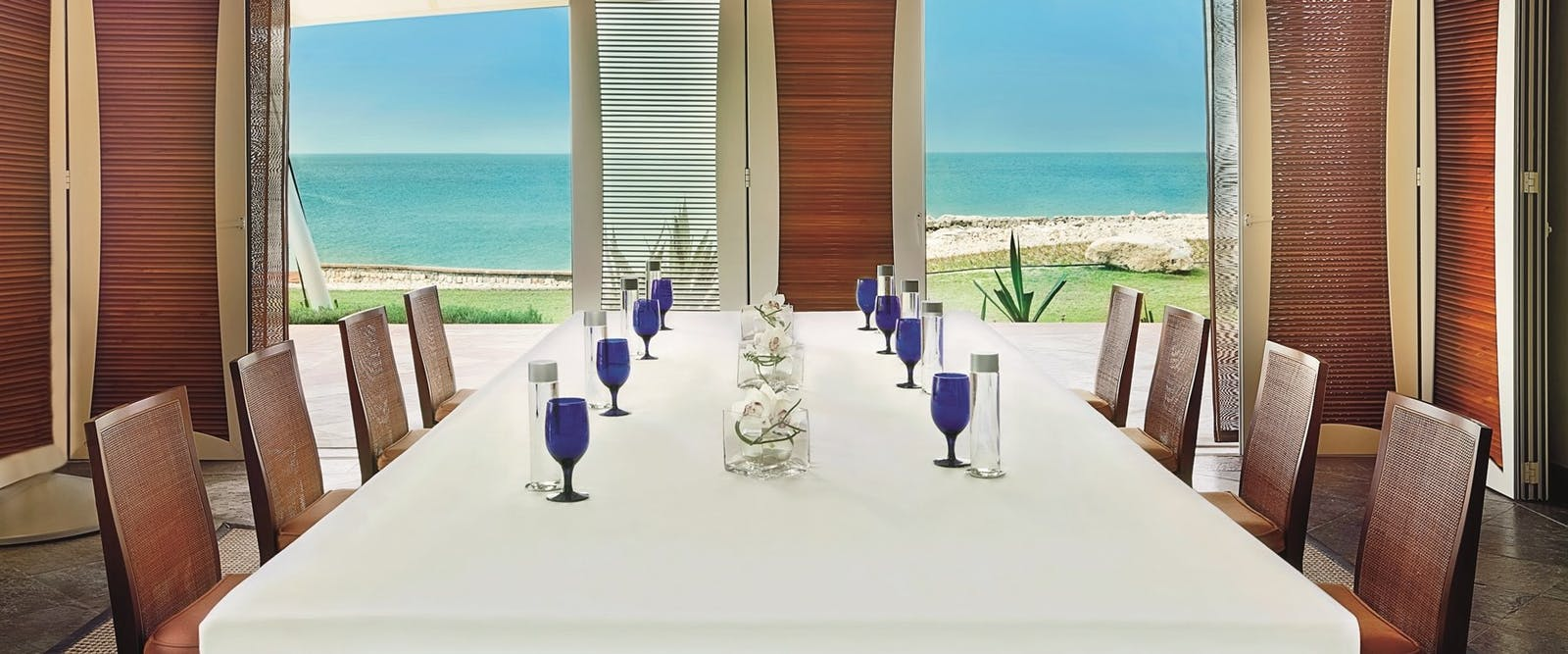 Dining Table at Villas at The Ritz-Carlton