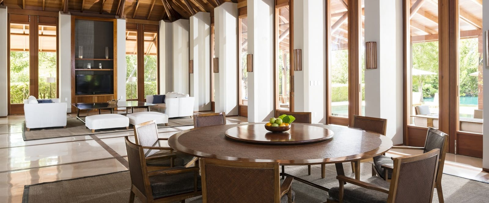 Living Area at Amanyara, Turks and Caicos