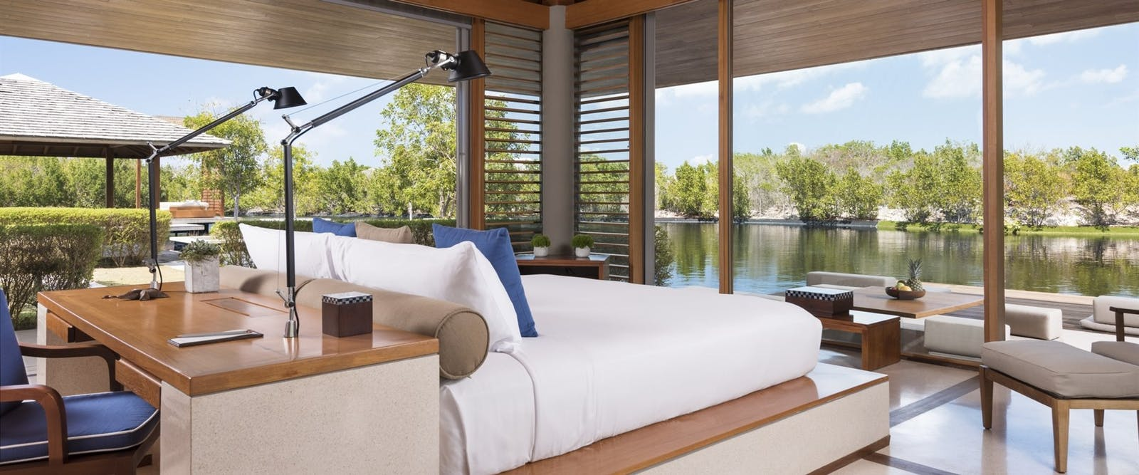 Bedroom at Amanyara, Turks and Caicos