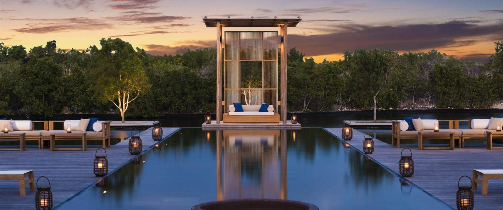 Villa 9 Swimming Pool at Amanyara, Turks and Caicos
