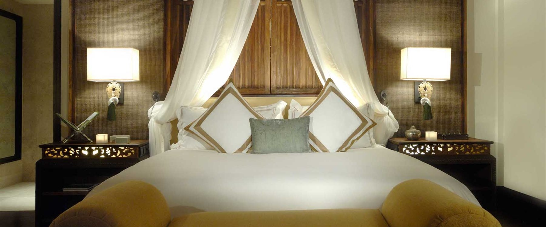 villa bedroom at The St Regis Bali Resort