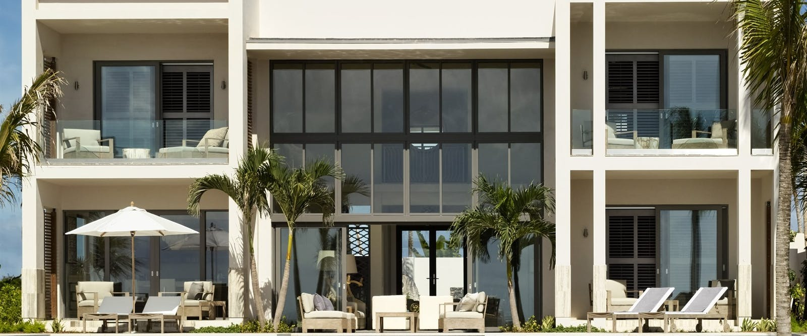 Villa exterior at Four Seasons Anguilla Resort