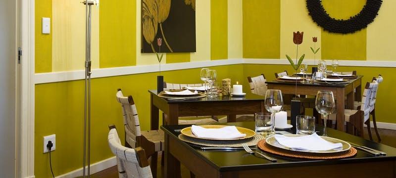 Dining at Villa Margherita