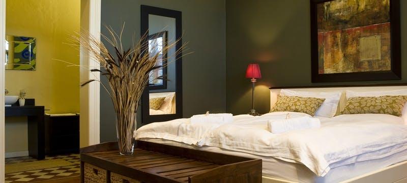 Kind bedroom at Villa Margherita