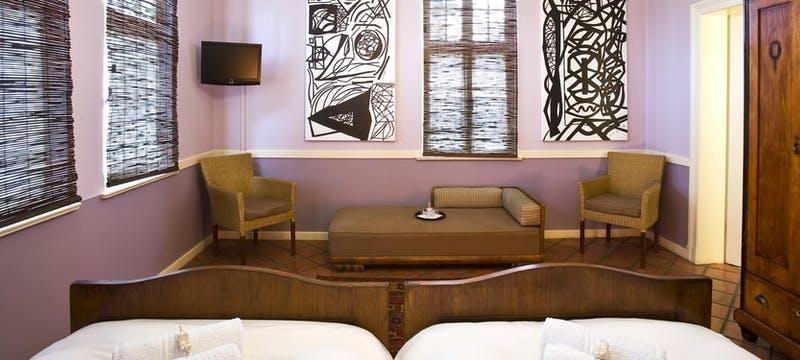 Bedroom at Villa Margherita