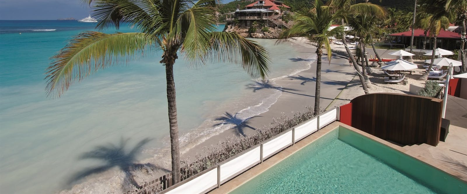 Swimming pool overlooking the ocean at Nina Villa at Rockstar & Nina at Eden Rock