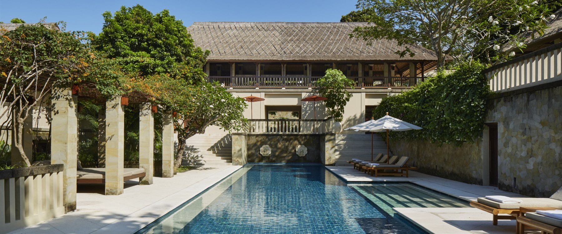 Villa Pool at Amanusa, Bali