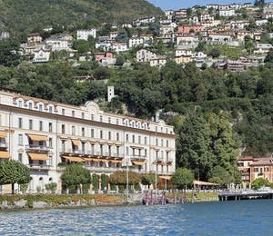 Exterior of Villa D'Este, Lake Como