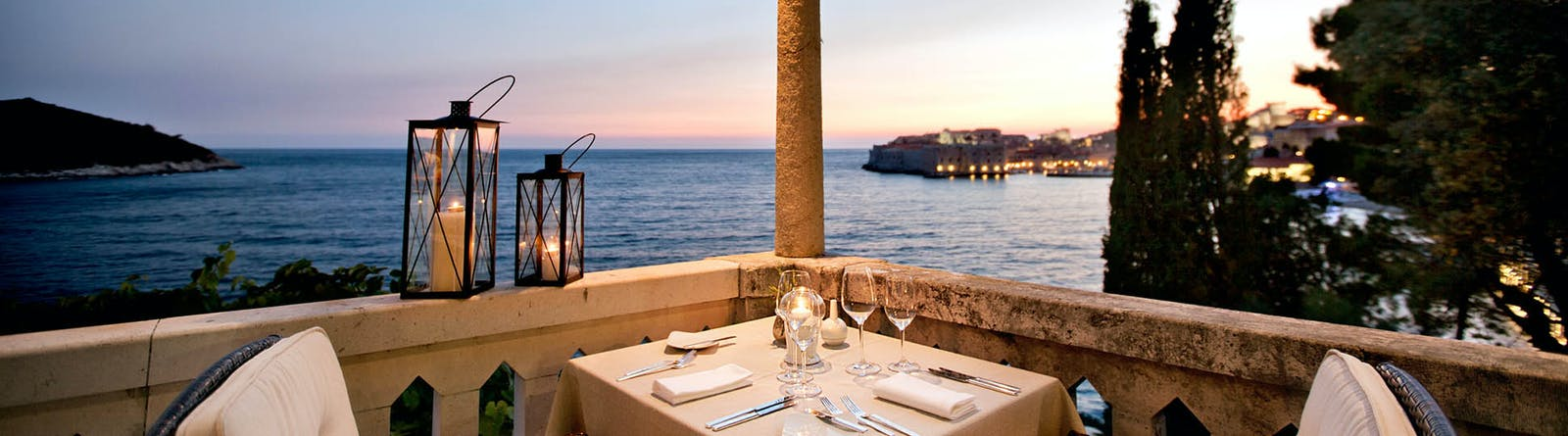 Dining with Beautiful View, Villa Orsula, Dubrovnik