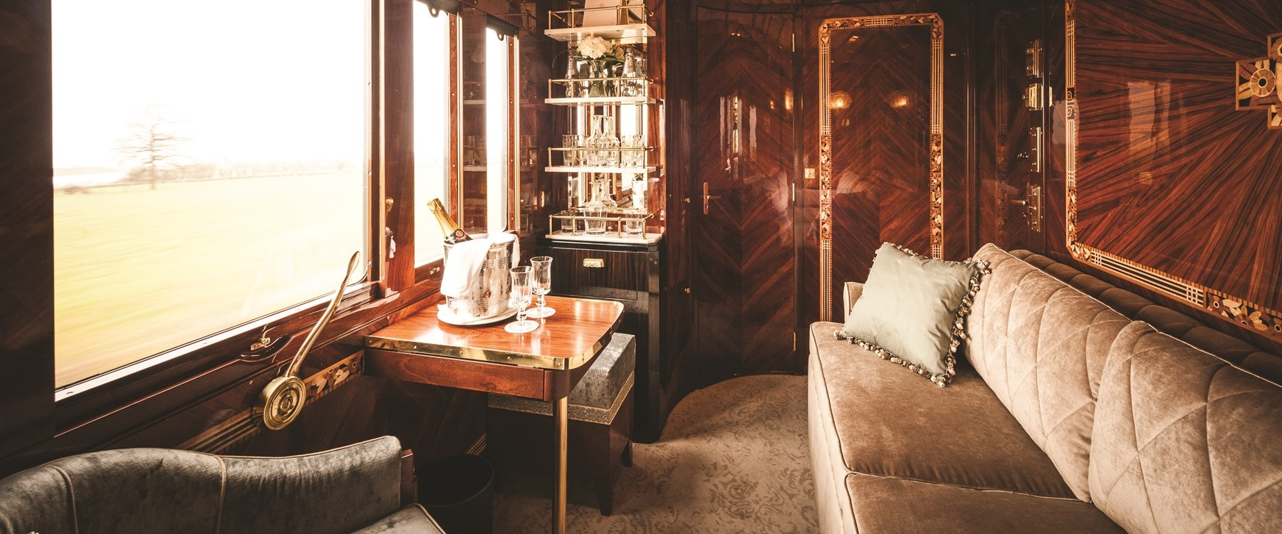 Accommodation on board Venice Simplon-Orient-Express