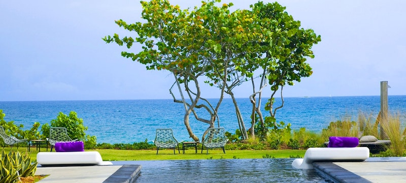 Pool overlooking the ocean at W Retreat & Spa - Vieques Island,Puerto Rico