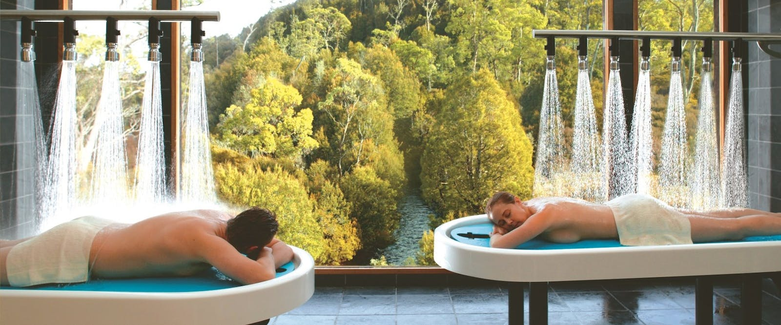 Spa plunge pool, Peppers Cradle Mountain Lodge