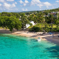 Aerial View of Waves Hotel and Spa by Elegant Hotels, Barbados