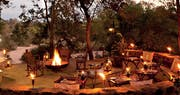 Deck area at Kings Camp Private Game Reserve, South Africa