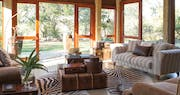Lounge area at Kings Camp Private Game Reserve, South Africa
