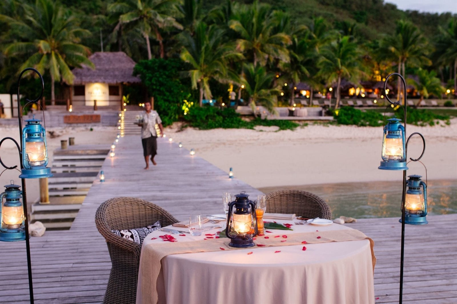Private Dining at Tokoriki Island Resort, Fiji