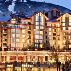 Exterior Of The Westin Resort & Spa Whistler