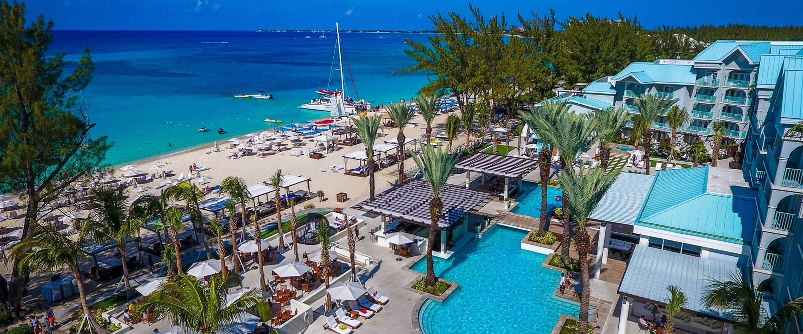 Beach Area at The Westin Grand Cayman Seven Mile Beach Resort & Spa, Cayman Islands