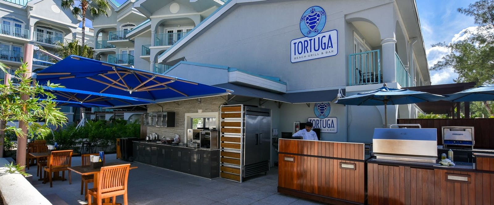 Tortgua Beach Bar and Grill at The Westin Grand Cayman Seven Mile Beach Resort & Spa, Cayman Islands