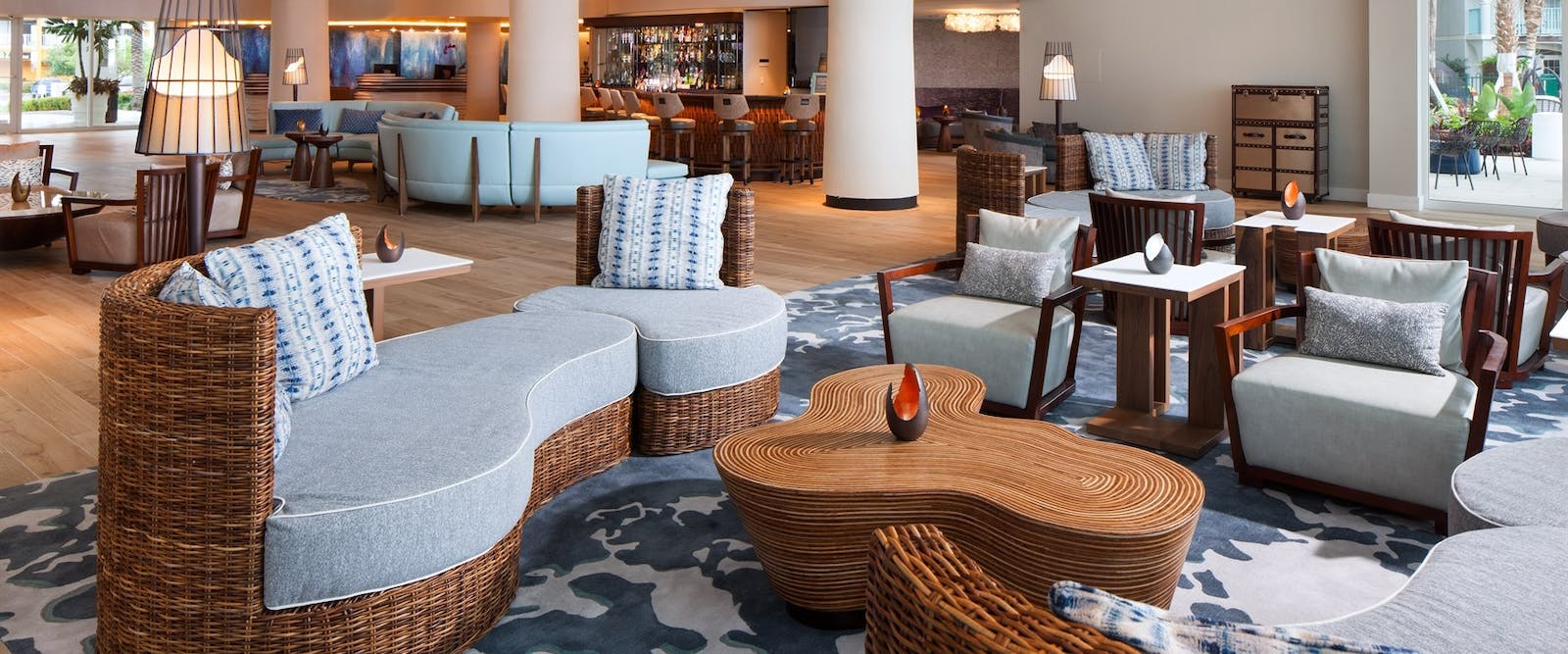 Bar Area at The Westin Grand Cayman Seven Mile Beach Resort & Spa, Cayman Islands