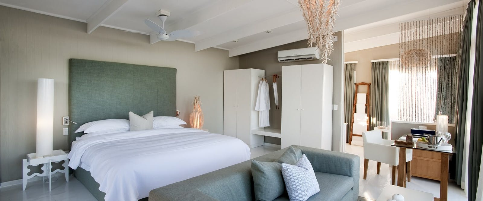 Bedroom at White Pearl Resort