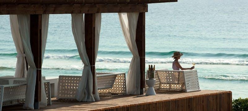 Relaxing at White Pearl Resort