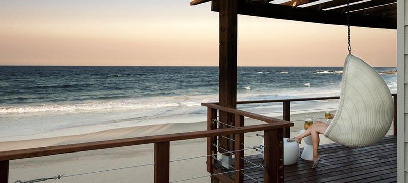 Sundown drinks  at White Pearl Resort