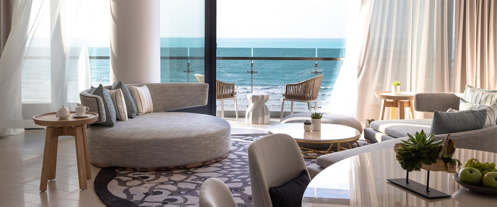 Panoramic Suite at Jumeirah at Saadiyat Island Resort, Abu Dhabi