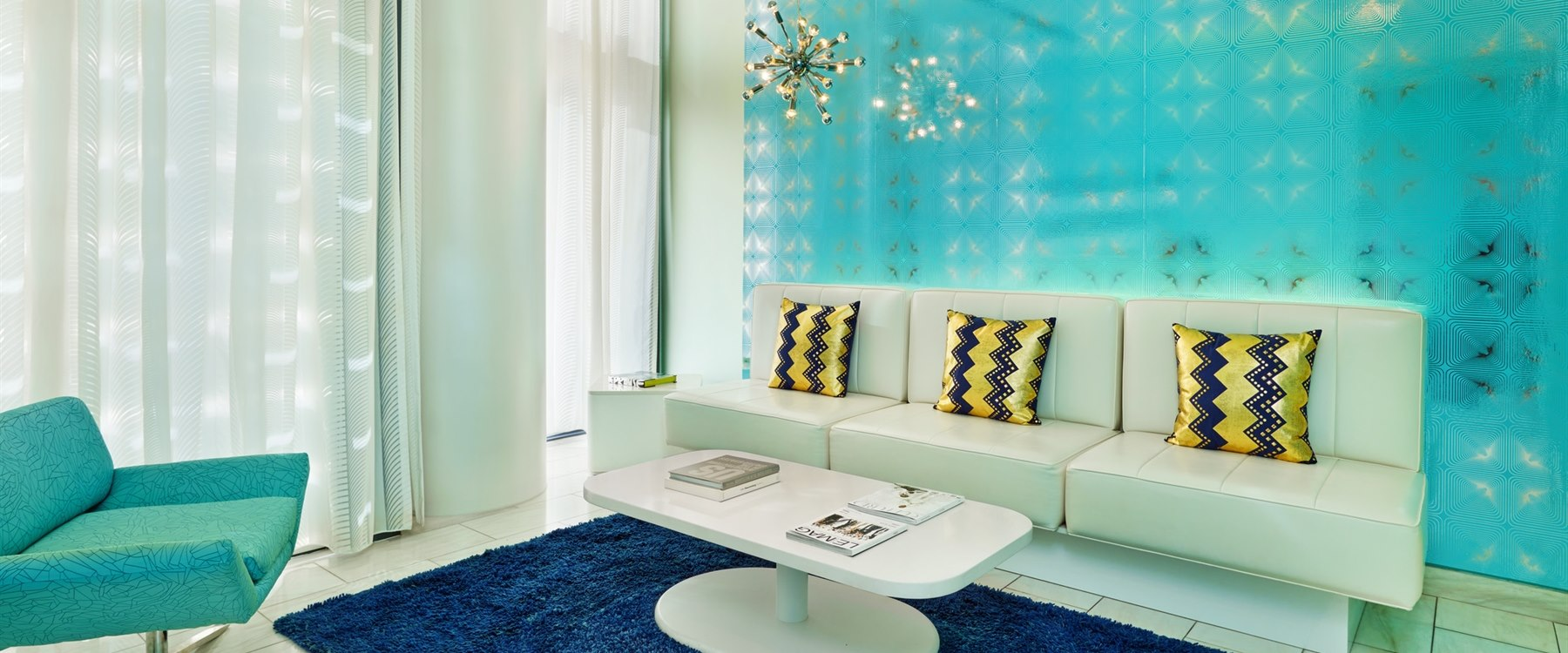 Bliss relaxation room at W South Beach, Miami