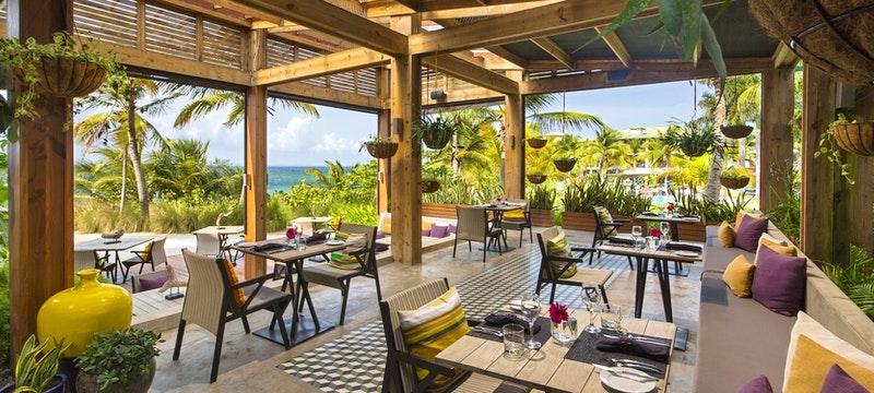 Modern Puerto Rican cuisine at Sorce Restaurant at W Retreat & Spa - Vieques Island,Puerto Rico