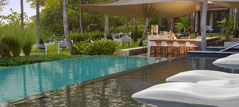 Lounge by the pool and indulge in light bites at WET pool bar at W Retreat & Spa - Vieques Island,Puerto Rico