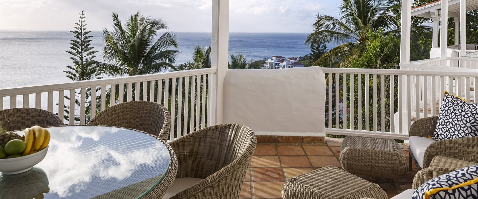 Beach Villa Terrace at Windjammer Landing