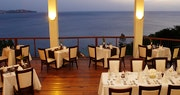 Windsong Restaurant, offering a mouthwatering mix of international and local cuisine at Calabash Cove, St Lucia
