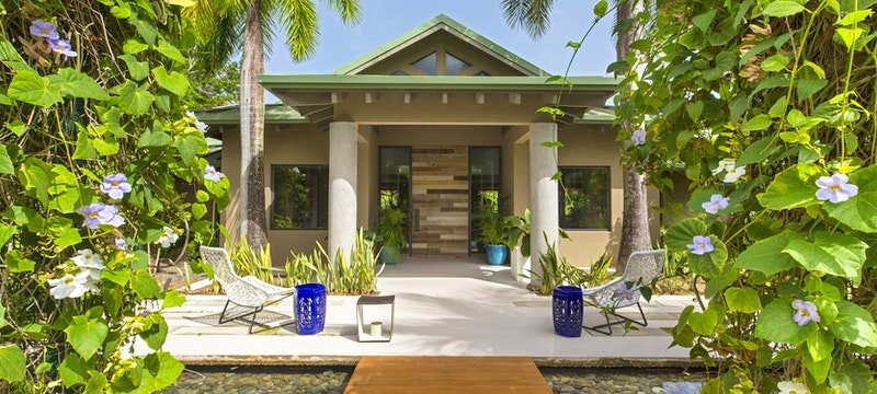 Entrance to spa at W Retreat & Spa - Vieques Island,Puerto Rico