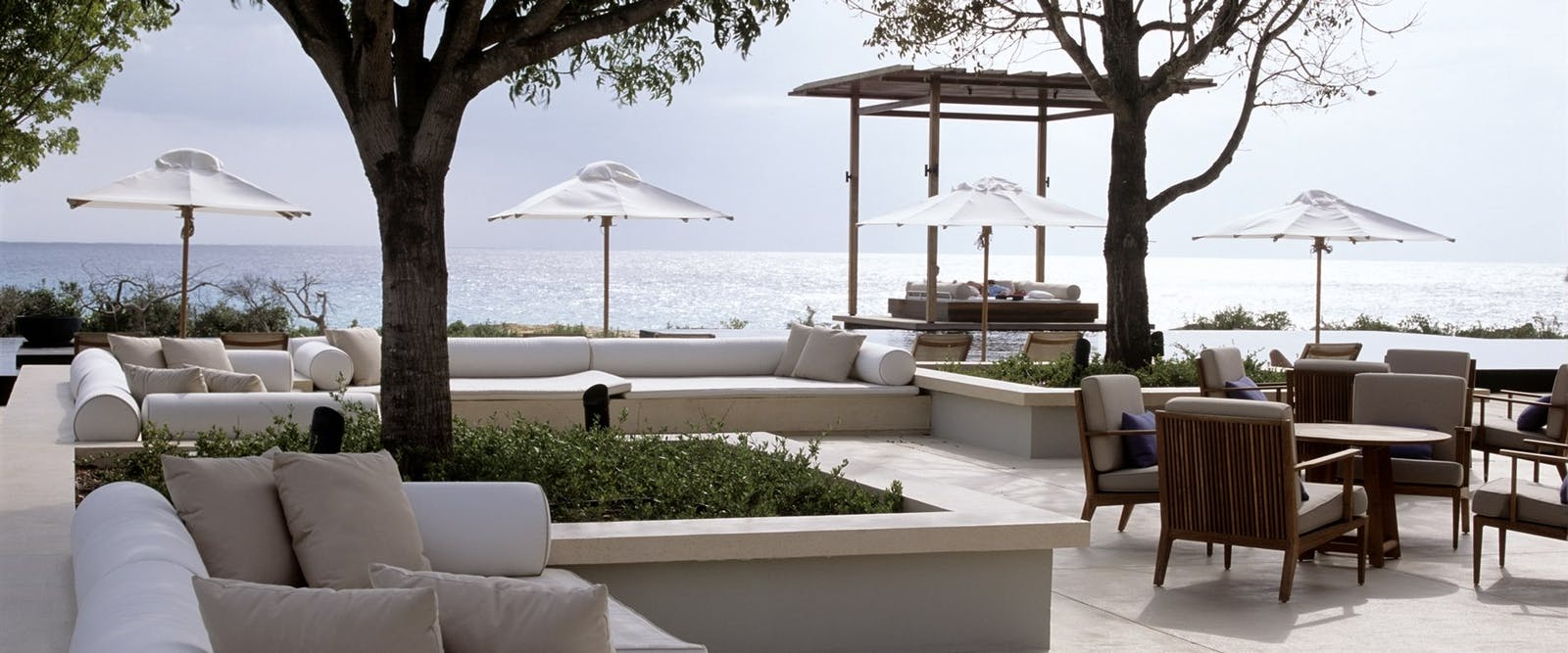 Deck terrace at Amanyara, Turks and Caicos