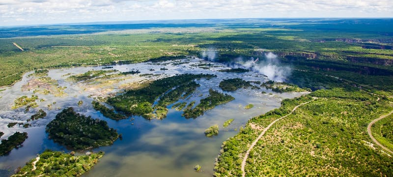 Zambezi River in South Africa, tour holidays