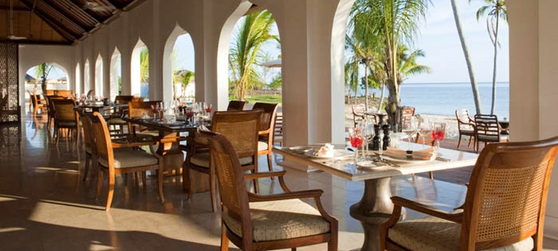 Dining at The Residence Zanzibar