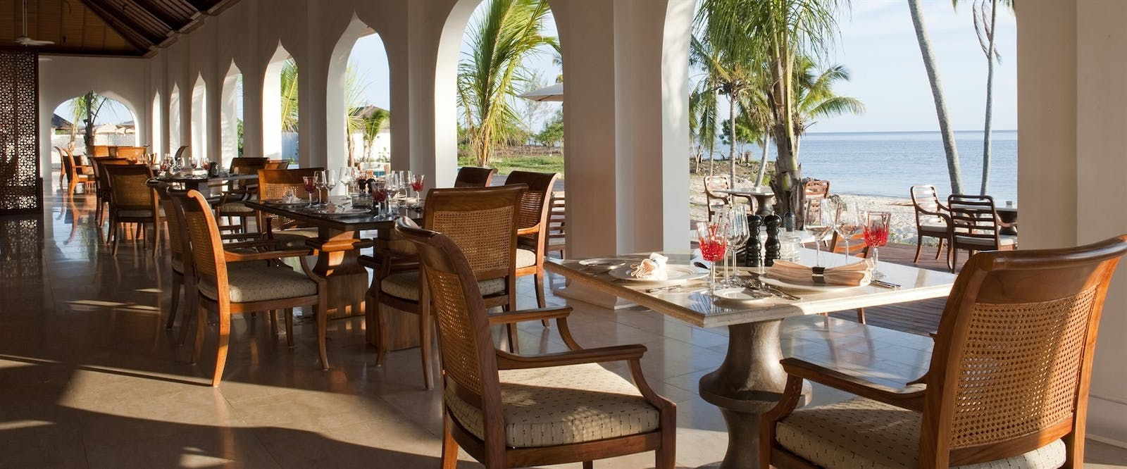 The Dining Room at The Residence, Zanzibar