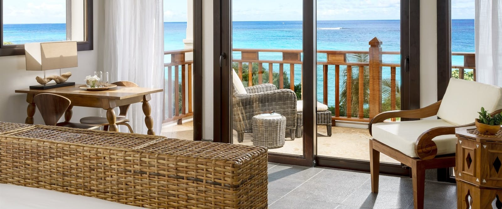 Corner King Bedroom at Zemi Beach House, Anguilla
