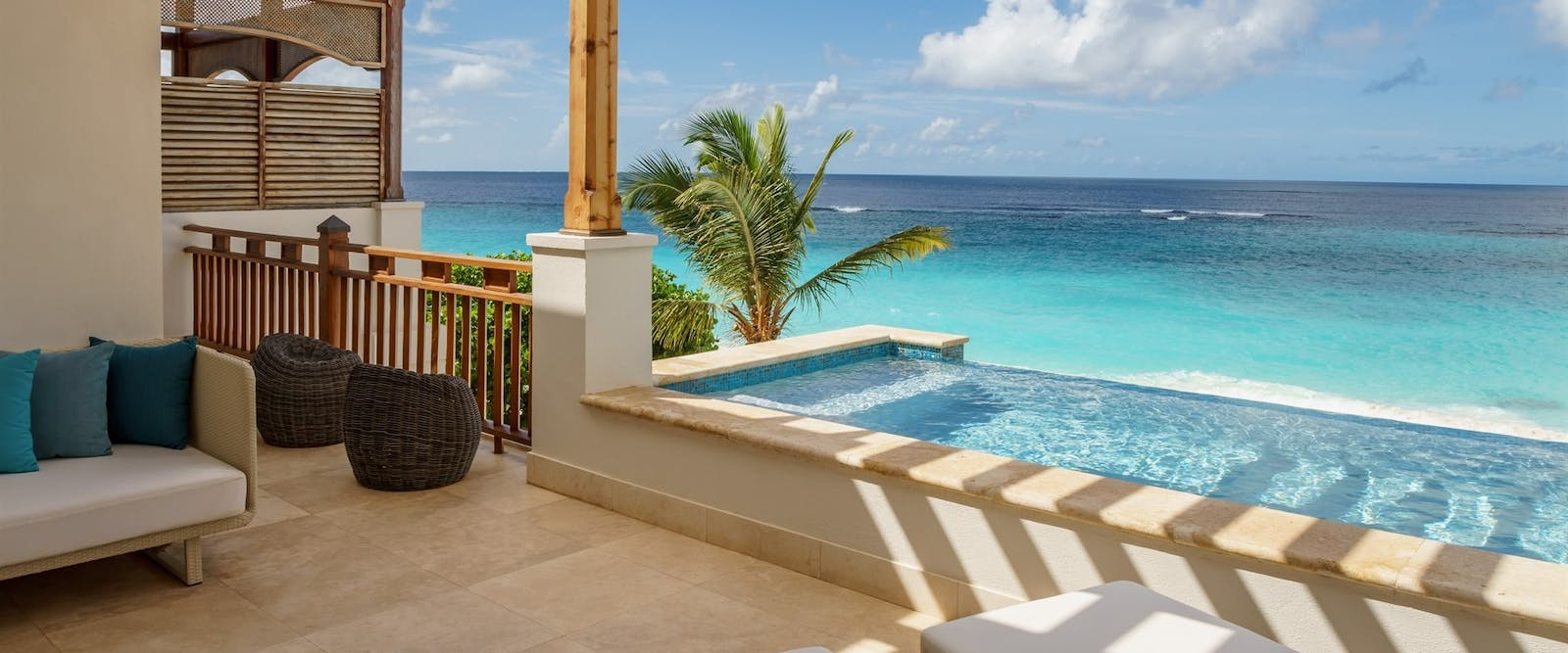 Beachfront Villa Suite with Private Pool at Zemi Beach House, Anguilla
