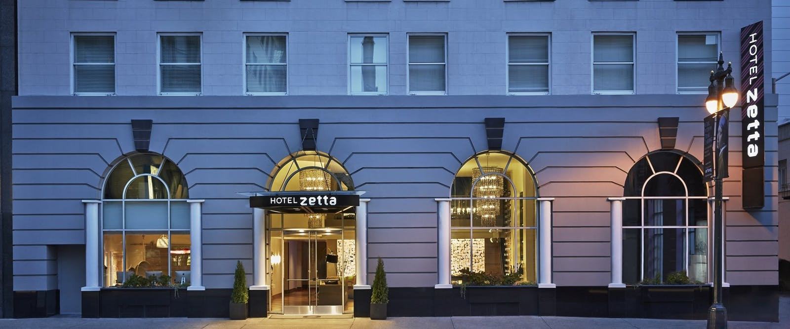 Exterior of Hotel Zetta, San Francisco, California